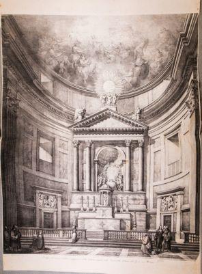 Chiesa del Gesù. Altare maggiore (su disegno di A. Sarti)