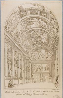 Palazzo Farnese. Galleria, veduta generale