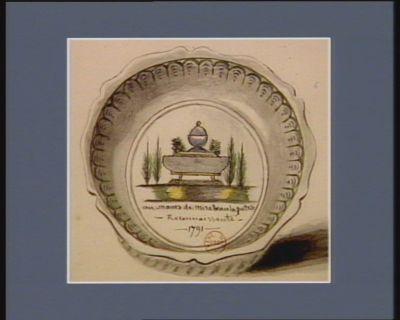 Au manes de Mirabeau la patrie reconnaissante 1791 : [dessin]