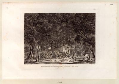 Assassinat des plénipotentiaires français <em>à</em> Rastadt le 9 floréal an 7.e : [estampe]