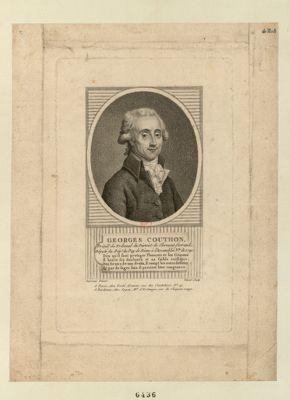 Georges Couthon député du dép.t du Puy de Dôme à l'Assemblée nationale de 1791, et à la Convention de 1792 : [estampe]