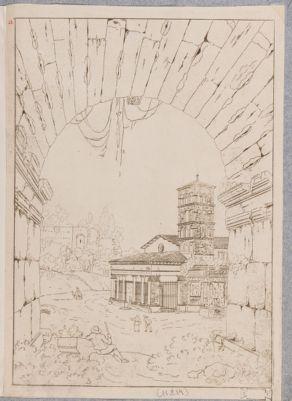Chiesa di S. Giorgio in Velabro e arco degli Argentieri