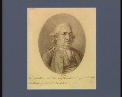 M.r Drüillon cons.er du roy Lieutenant general au Bailliage presidial de Blois : [dessin]