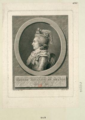 Madame Adelaide de France tante <em>du</em> Roi : [estampe]