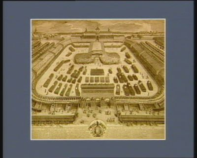 1.ere fédération générale des 83 départemens de la France, qui a eu lieu le 14 juillet 1790 époques les plus remarquables de evenemens qui sont arrives depuis la formation des Etats gén.aux... : [estampe]