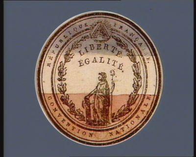 République française Convention nationale liberté égalité : [estampe]