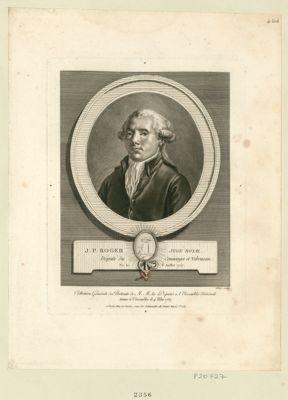 J.P. Roger, juge royal député du Comminges et Nebousan, né le 6 juillet 1757 : [estampe]