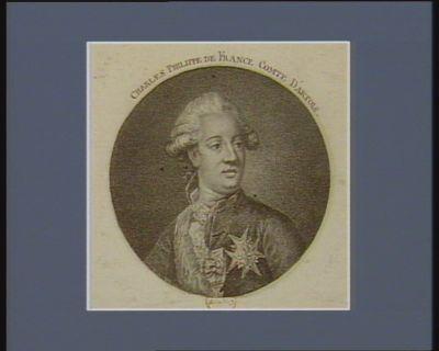 Charles Philippe de <em>France</em> comte d'Artois [estampe]