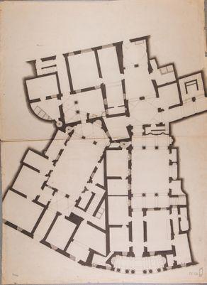 Palazzo Massimi, pianta generale