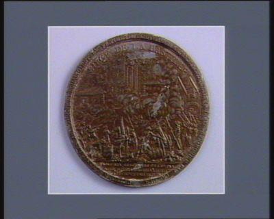 SIEGE DE LA BASTILLE CE PLOMB SCELLAIT LES ANNEAUX QUI ENCHAINOIENT LES VICTIMES DU DESPOTISME. RETRACE LEPOQUE DE LA LIBERTE CONQUISE L'AN PREMIER : DEDIE AUX ELECTEURS DE 1789 PAR // PALLOY PATRIOTE LORS DE LA RENDITI.ON // DE SON CMPTE A LA NATION