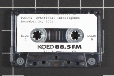 KQED 88.5FM. Forum: Artificial Intelligence