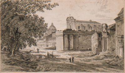 Foro Romano, lato nord-est