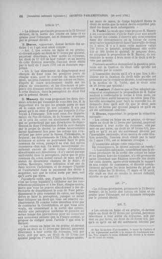 Tome 42 : Du 17 avril au 4 mai 1792 - page 68