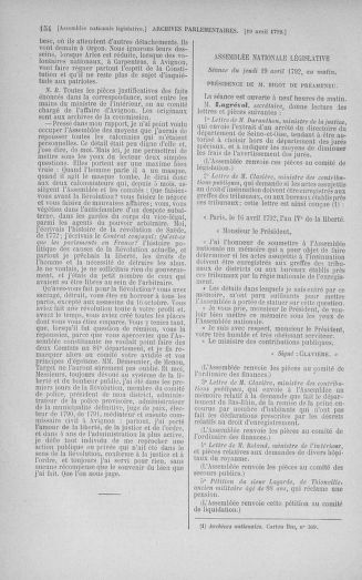 Tome 42 : Du 17 avril au 4 mai 1792 - page 154