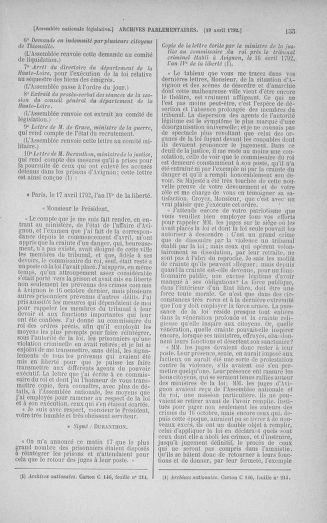 Tome 42 : Du 17 avril au 4 mai 1792 - page 155