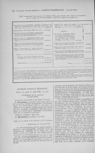 Tome 42 : Du 17 avril au 4 mai 1792 - page 178