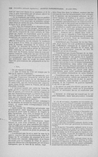 Tome 42 : Du 17 avril au 4 mai 1792 - page 198