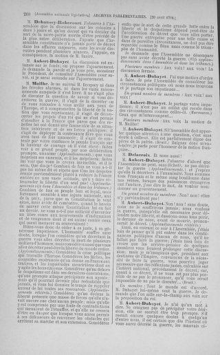 Tome 42 : Du 17 avril au 4 mai 1792 - page 208