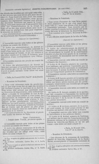 Tome 42 : Du 17 avril au 4 mai 1792 - page 247