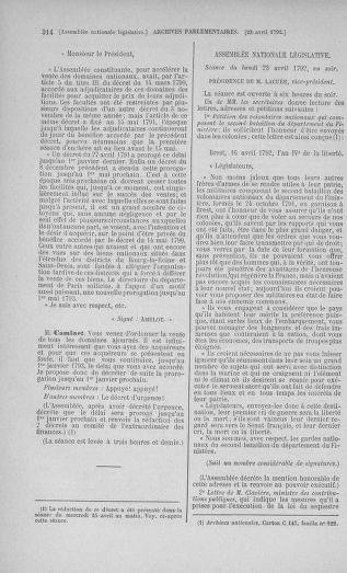 Tome 42 : Du 17 avril au 4 mai 1792 - page 314