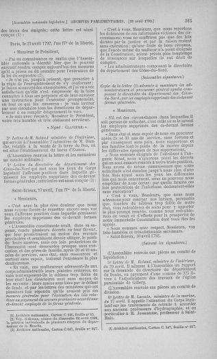 Tome 42 : Du 17 avril au 4 mai 1792 - page 315