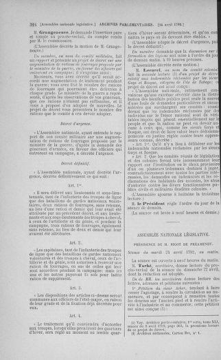 Tome 42 : Du 17 avril au 4 mai 1792 - page 324