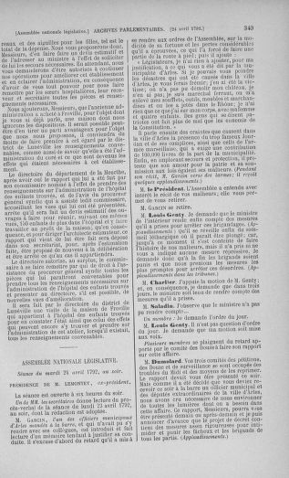 Tome 42 : Du 17 avril au 4 mai 1792 - page 349