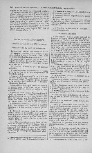 Tome 42 : Du 17 avril au 4 mai 1792 - page 368