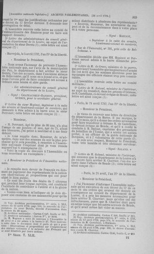 Tome 42 : Du 17 avril au 4 mai 1792 - page 369
