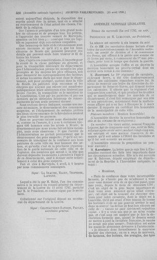 Tome 42 : Du 17 avril au 4 mai 1792 - page 400