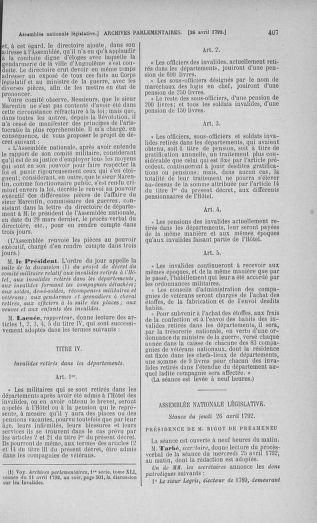Tome 42 : Du 17 avril au 4 mai 1792 - page 407