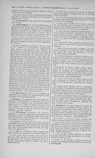 Tome 42 : Du 17 avril au 4 mai 1792 - page 440