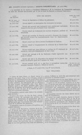 Tome 42 : Du 17 avril au 4 mai 1792 - page 468