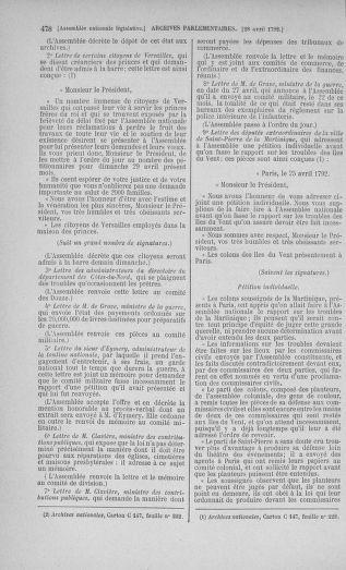 Tome 42 : Du 17 avril au 4 mai 1792 - page 478