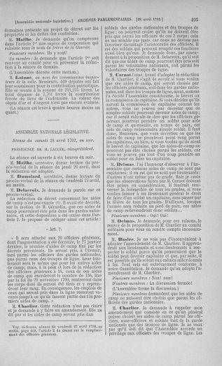 Tome 42 : Du 17 avril au 4 mai 1792 - page 495