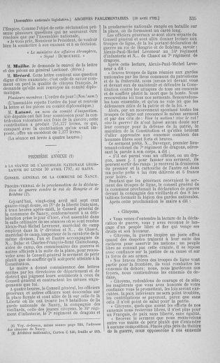 Tome 42 : Du 17 avril au 4 mai 1792 - page 535