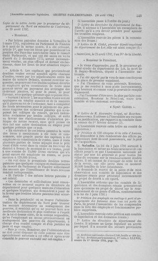 Tome 42 : Du 17 avril au 4 mai 1792 - page 543