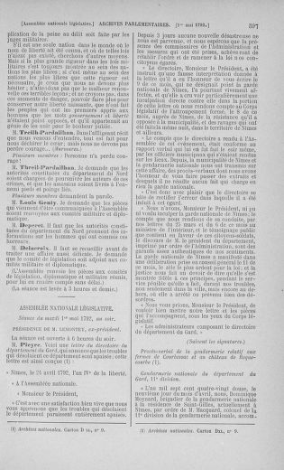 Tome 42 : Du 17 avril au 4 mai 1792 - page 597