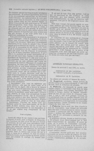 Tome 42 : Du 17 avril au 4 mai 1792 - page 638