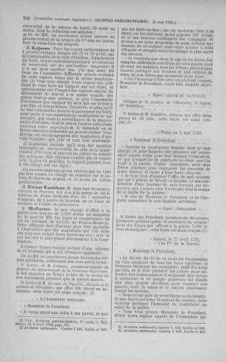 Tome 42 : Du 17 avril au 4 mai 1792 - page 700
