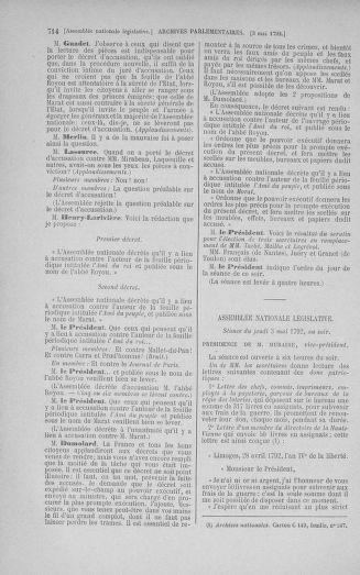 Tome 42 : Du 17 avril au 4 mai 1792 - page 714
