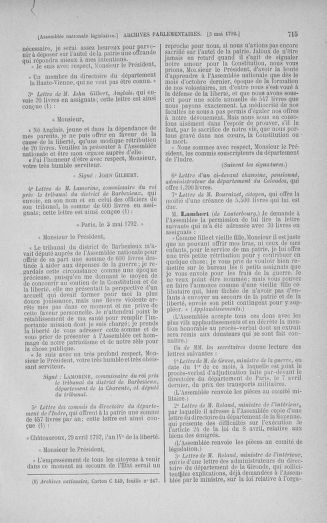 Tome 42 : Du 17 avril au 4 mai 1792 - page 715