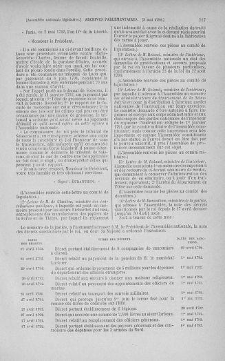 Tome 42 : Du 17 avril au 4 mai 1792 - page 717