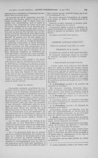 Tome 42 : Du 17 avril au 4 mai 1792 - page 727