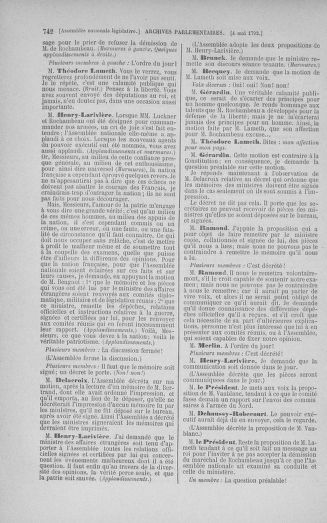 Tome 42 : Du 17 avril au 4 mai 1792 - page 742