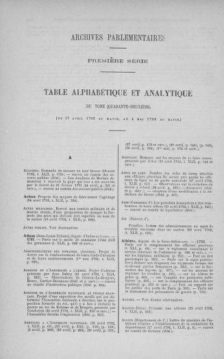 Tome 42 : Du 17 avril au 4 mai 1792 - page ..