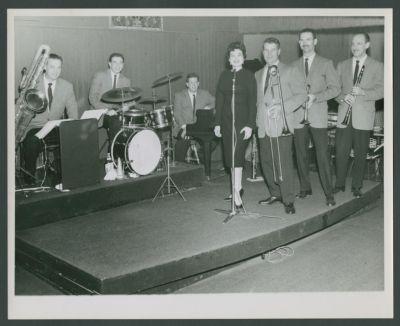Turk Murphy with Pat Yankee at Easy Street 1958