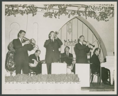 Turk Murphy, Dick Lammi, Birch Smith, Thad Vandon, Ellis Horne and Don Ewell