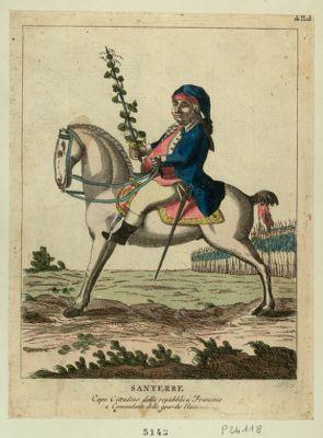 Santerre capo cittadino della Republica Francese e commandante delle guardie nazionali : [estampe]