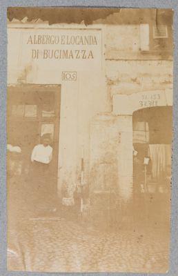 Albergo e Locanda Bucimazza. Ingresso